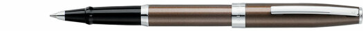 Ручка-роллер Sheaffer Sagaris Metallic Brown Chrome Trim (SH E1948051)