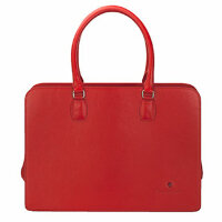 Портфель женский Tonino Lamborghini Soft red, TL CA88004-02, 17.5х41.7 см.