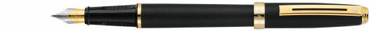 Ручка Sheaffer Prelude Matt Black 22k Gold Plated Trim (SH E034640),(SH E034650)