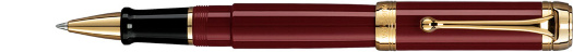 Ручка Aurora Talentum Bordeaux Barrel and Cap Gold Plated Trim (AU D72-X)