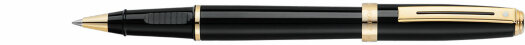 Ручка Sheaffer Prelude Gloss Black - Gold Plated Trim (SH E1355)
