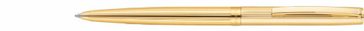 Ручка Sheaffer Sagaris Fluted Gold Tone Gold Tone Trim (SH E2947450)
