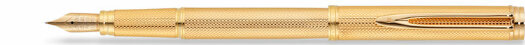 Перьевая ручка Waterman Gentleman Gold Plated Grain d`Orge (WT 070121/30)