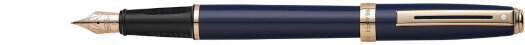 Ручка Sheaffer Prelude Cobalt Blue with Broad Rose Gold Tone Trim (SH E0914343)