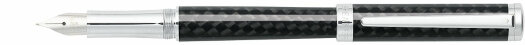 Перьевая ручка Sheaffer Intensity Carbon Fiber Chrome Plated Trim (SH E0923443),(SH E0923440),(SH E0923450)